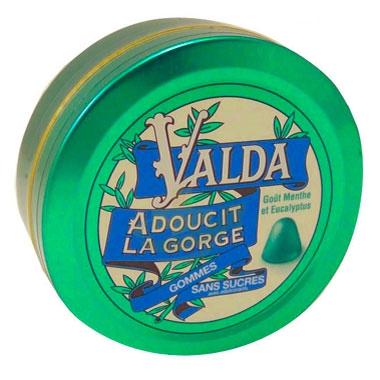 Valda Linea Classica Pastiglie Gommose Balsamiche Emollienti senza Zucchero 50 g