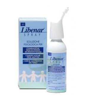 Libenar Linea Pulizia e Salute del Naso Soluzione Fisiologica Spray 125 ml