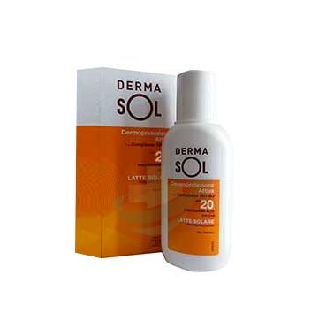 Dermasol Linea Protezione Solare SPF30 Latte Protezione Media 150 ml