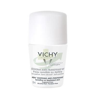 Vichy Linea Deo Deodorante Delicato Roll-on per Pelli Sensibili o Depilate 50 ml