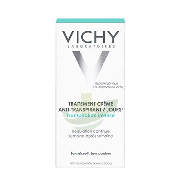 Vichy Linea Deo Anti-Traspirante Deodorante Crema con Sali Di Alluminio 30 ml