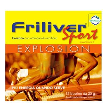 Friliver Linea Vitamine Minerali Sport Explosion Integratore Alimentare 12 Buste