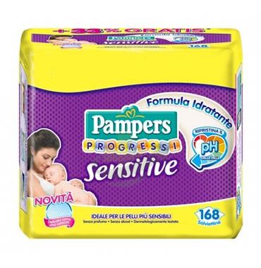 Pampers Linea Progressi Sensitive Pannolini per Bambini Taglia 1 Piccola 2-5 Kg