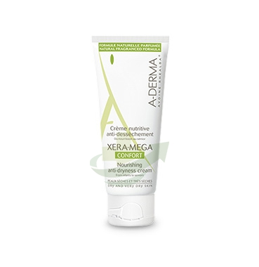 A-Derma Linea Xera-Mega Confort Crema Nutritiva Emolliente Anti-Secchezza 100 ml