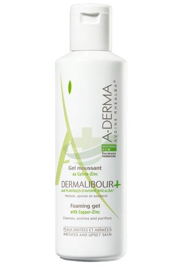A-Derma Linea Dermalibour+ Ristrutturante Pelli Fragili Gel Detergente 250 ml
