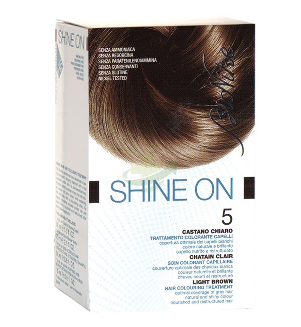 BioNike Linea Colorazione Shine ON Trattamento Capelli 4.05 Castano Cioccolat