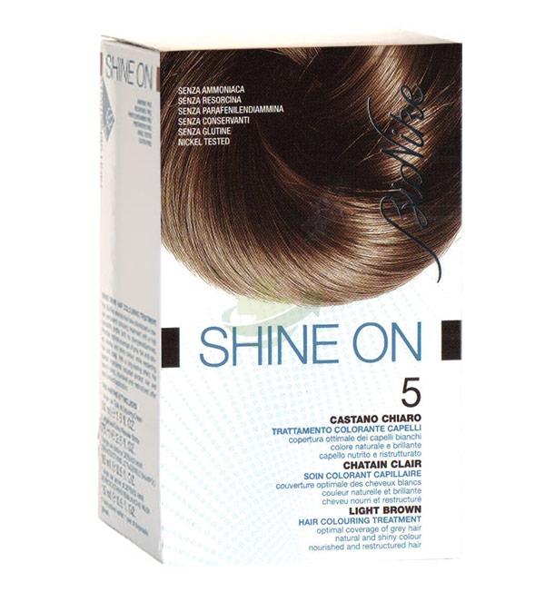 BioNike Linea Colorazione Shine ON Trattamento Capelli 7.32 Biondo Caramello
