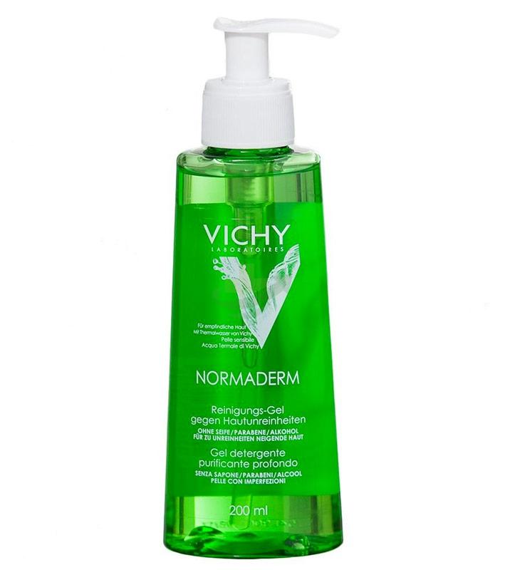 Vichy Linea Normaderm Gel Detergente Riequilibrante Purificante Profondo 200 ml