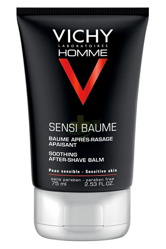 Vichy Linea Homme Sensi-Baume Balsamo Idratante Rigenerante Viso Uomo 75 ml