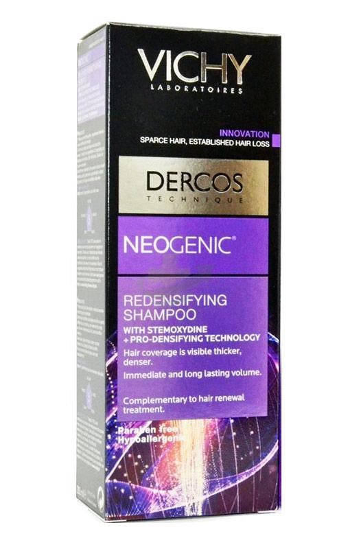 Dercos Linea Neogenic Trattamento Anticaduta Shampoo Ridensificante 200 ml