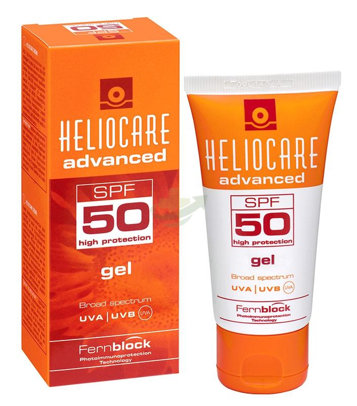 Heliocare Linea Fotoprotezione Avanzata SPF50 Protezione Alta UVA/UVB Gel 50 ml