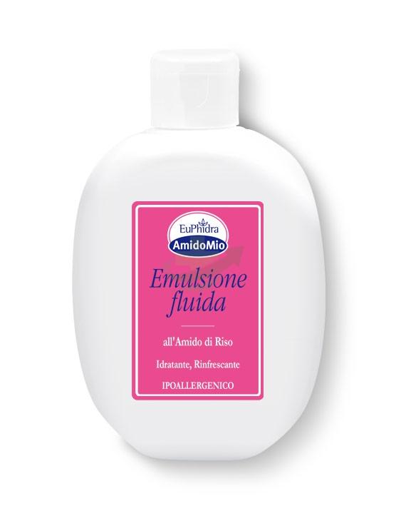 EuPhidra Linea AmidoMio Emulsione Fluida Idratante Pelli Sensibili 200 ml