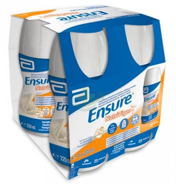 Abbott Linea Nutrizione Domiciliare Ensure NutriVigor 4x220ml Gusto Vaniglia