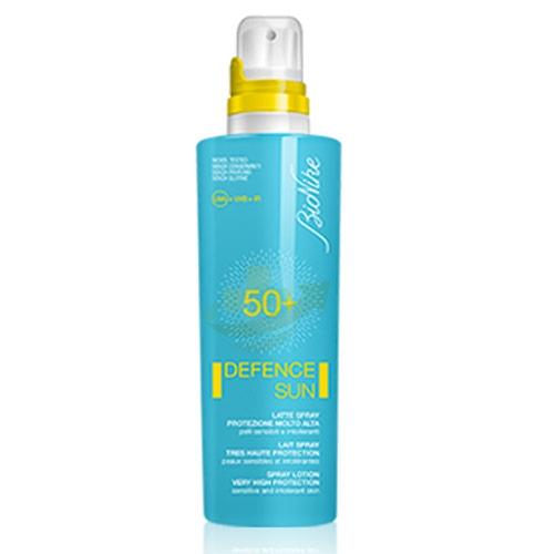 BioNike Linea Defence Sun SPF50+ Latte Spray Corpo Pelli Sensibili 200 ml