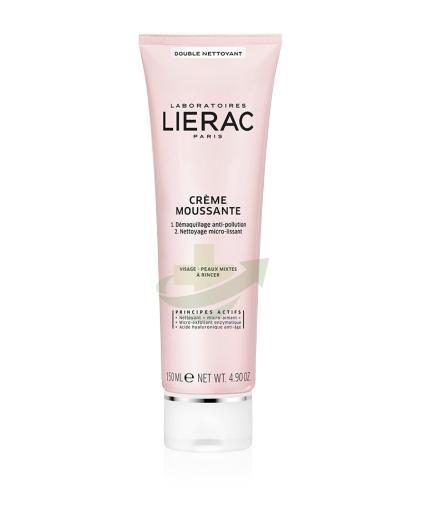Lierac Linea Double Nettoyant Creme Moussante Struccante Detergente 150 ml