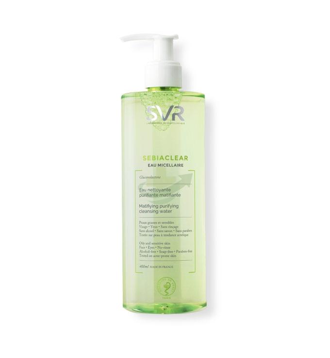SVR Linea Sebiaclear Acqua Micellare Purificante Detergente Struccante 400 ml