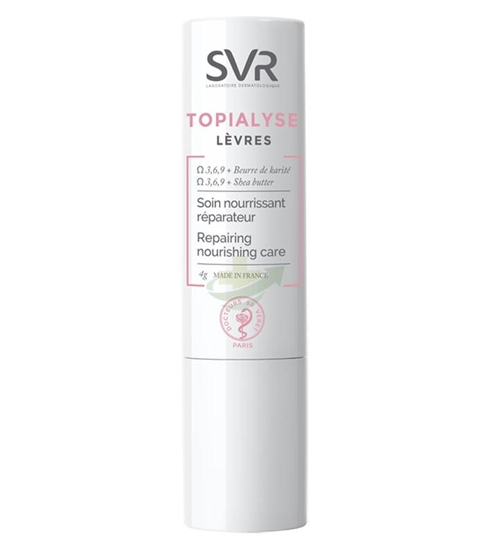 SVR Linea Topialyse Levres Trattamento Nutriente e Riparatore Intenso Labbra 4 g