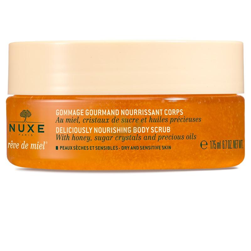 Nuxe Linea Reve de Miel Gommage Gourmand Scrub Corpo Nutriente al Miele 175 ml