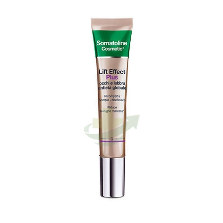 Somatoline Cosmetic Linea Lift Effect Plus Anitetà Globale Occhi e Labbra