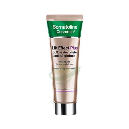 Somatoline Cosmetic Linea Lift Effect Plus Anitetà Globale Collo e Décolleté
