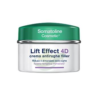 Somatoline Cosmetic Linea Lift Effect 4D Crema Antirughe Filler Viso 50 ml