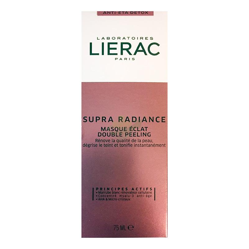 Lierac Linea Supra Radiance Mascque Eclat Maschera Peeling Doppia Azione 75 ml