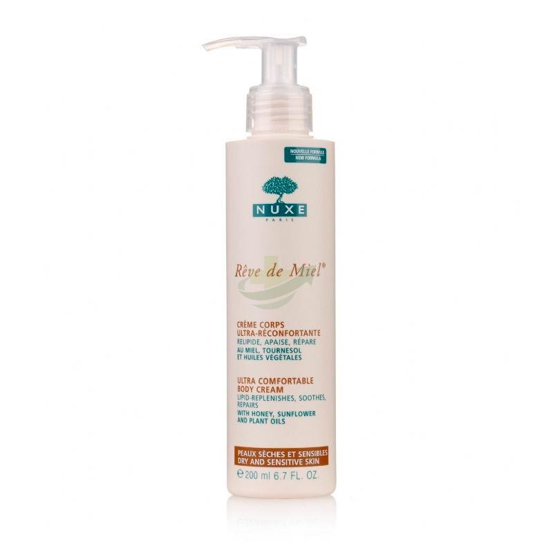 Nuxe Linea Reve De Miel Addolcente Crema Ultra-Confort Nutriente Corpo 200 ml