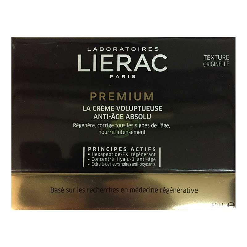 Lierac Linea Premium La Creme Voluptueuse Absolu Anti-Età Globale Viso 50 ml