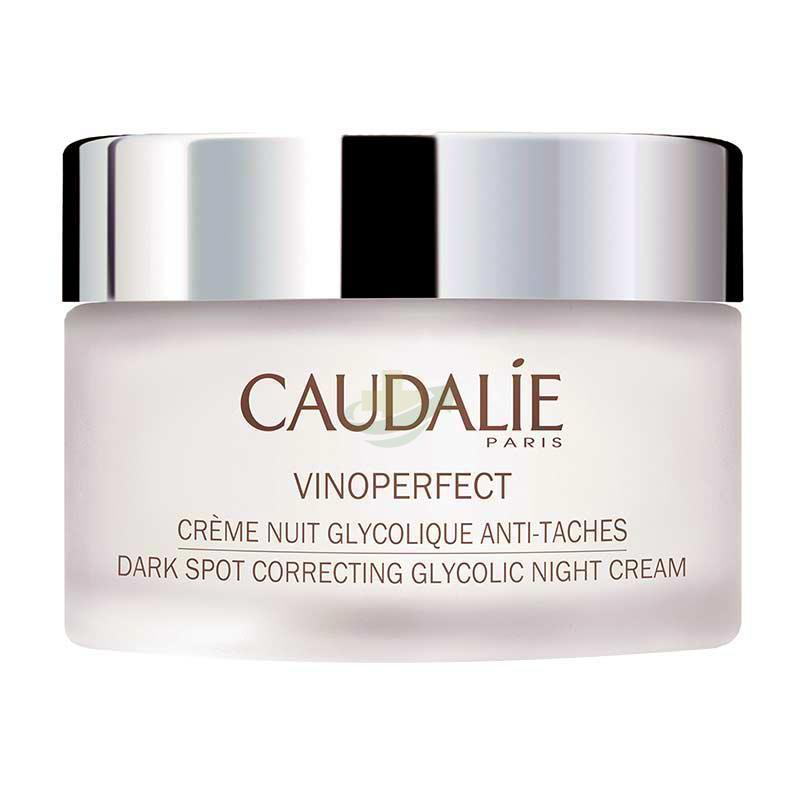 Caudalie Linea Vinoperfect Crema Notte Glicolica Trattamento Anti-Macchie 50 ml