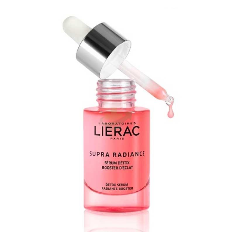 Lierac Linea Supra Radiance Siero Detox Booster Eclat Anti-Età Rimpolpante 30 ml