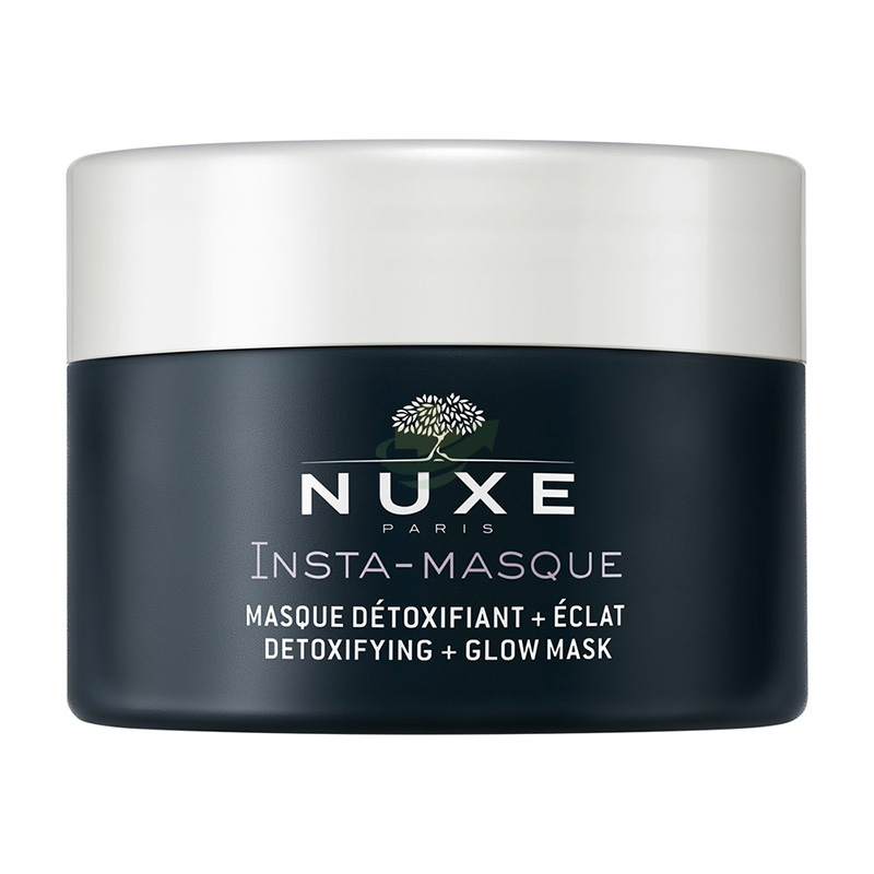Nuxe Linea Insta-Mask Maschera Detox Carbone e Acqua Floreale di Rosa 50 ml