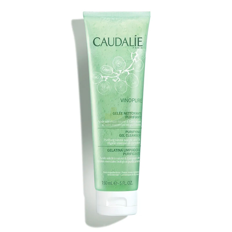 Caudalie Linea Vinopure Pelle Perfetta Gel Detergente Purificante Viso 150 ml