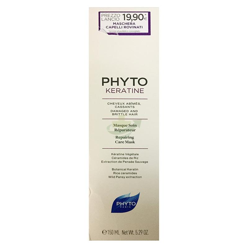 Phyto Linea Capelli Rovinati Phytokeratine Maschera Idratante Riparatrice 150 ml