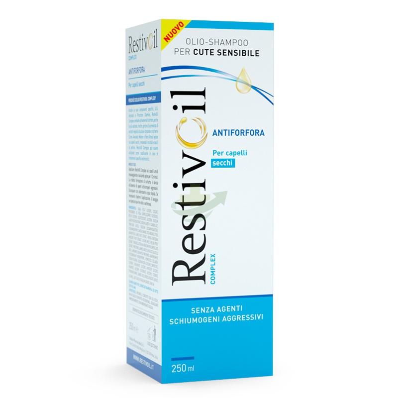 RestivOil Linea Anti-Forfora Complex Olio Shampoo Nutritivo Capelli Secchi 250ml
