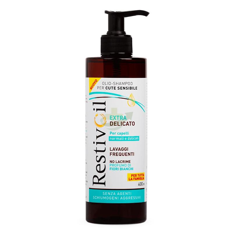 RestivOil Linea Lavaggi Frequenti Extra Delicato Olio Shampoo No Lacrime 400 ml